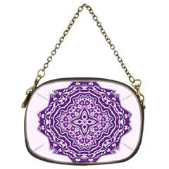 Mandala Purple Mandalas Balance Chain Purses (Two Sides)