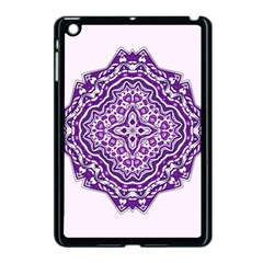 Mandala Purple Mandalas Balance Apple Ipad Mini Case (black)