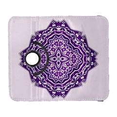 Mandala Purple Mandalas Balance Galaxy S3 (Flip/Folio)