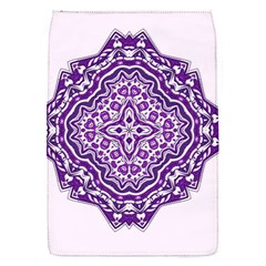Mandala Purple Mandalas Balance Flap Covers (S)