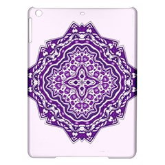 Mandala Purple Mandalas Balance iPad Air Hardshell Cases