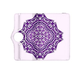 Mandala Purple Mandalas Balance Kindle Fire HDX 8.9  Flip 360 Case