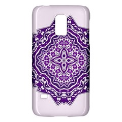 Mandala Purple Mandalas Balance Galaxy S5 Mini
