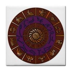 Zodiak Zodiac Sign Metallizer Art Face Towel