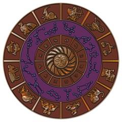 Zodiak Zodiac Sign Metallizer Art Magic Photo Cubes