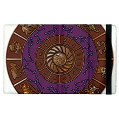 Zodiak Zodiac Sign Metallizer Art Apple iPad 2 Flip Case
