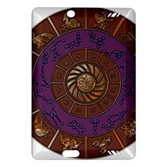 Zodiak Zodiac Sign Metallizer Art Amazon Kindle Fire HD (2013) Hardshell Case