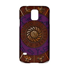 Zodiak Zodiac Sign Metallizer Art Samsung Galaxy S5 Hardshell Case