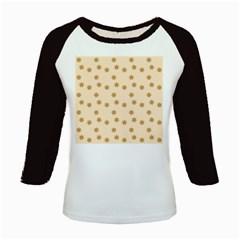Pattern Gingerbread Star Kids Baseball Jerseys