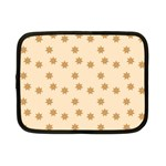 Pattern Gingerbread Star Netbook Case (Small)  Front