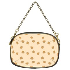 Pattern Gingerbread Star Chain Purses (two Sides)