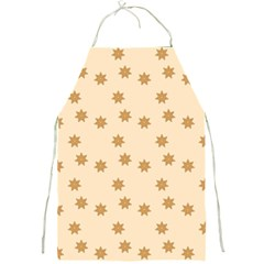 Pattern Gingerbread Star Full Print Aprons