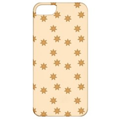 Pattern Gingerbread Star Apple iPhone 5 Classic Hardshell Case