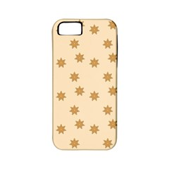 Pattern Gingerbread Star Apple iPhone 5 Classic Hardshell Case (PC+Silicone)