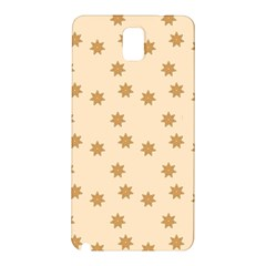 Pattern Gingerbread Star Samsung Galaxy Note 3 N9005 Hardshell Back Case