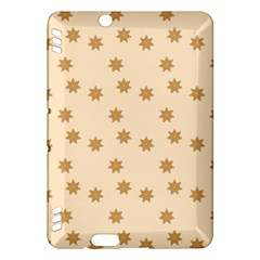 Pattern Gingerbread Star Kindle Fire HDX Hardshell Case
