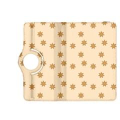 Pattern Gingerbread Star Kindle Fire HDX 8.9  Flip 360 Case