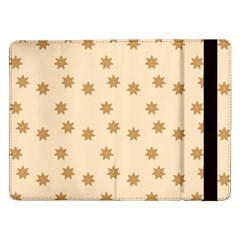 Pattern Gingerbread Star Samsung Galaxy Tab Pro 12.2  Flip Case