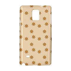 Pattern Gingerbread Star Samsung Galaxy Note 4 Hardshell Case