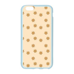 Pattern Gingerbread Star Apple Seamless iPhone 6/6S Case (Color)
