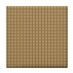 Pattern Background Brown Lines Tile Coasters
