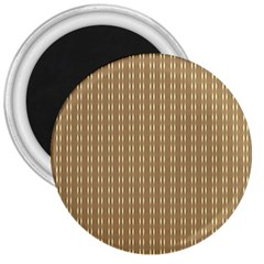 Pattern Background Brown Lines 3  Magnets
