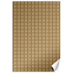 Pattern Background Brown Lines Canvas 20  x 30