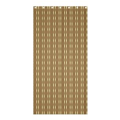 Pattern Background Brown Lines Shower Curtain 36  x 72  (Stall)