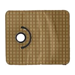 Pattern Background Brown Lines Galaxy S3 (Flip/Folio)