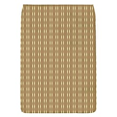 Pattern Background Brown Lines Flap Covers (S)