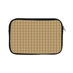Pattern Background Brown Lines Apple Ipad Mini Zipper Cases