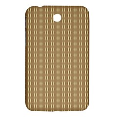 Pattern Background Brown Lines Samsung Galaxy Tab 3 (7 ) P3200 Hardshell Case