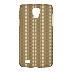 Pattern Background Brown Lines Galaxy S4 Active