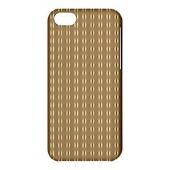 Pattern Background Brown Lines Apple iPhone 5C Hardshell Case