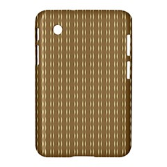 Pattern Background Brown Lines Samsung Galaxy Tab 2 (7 ) P3100 Hardshell Case