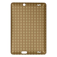 Pattern Background Brown Lines Amazon Kindle Fire HD (2013) Hardshell Case