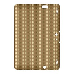 Pattern Background Brown Lines Kindle Fire HDX 8.9  Hardshell Case