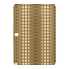 Pattern Background Brown Lines Samsung Galaxy Tab Pro 10.1 Hardshell Case