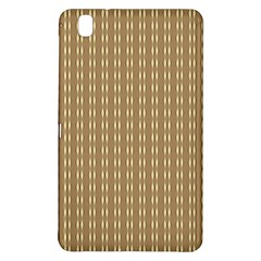 Pattern Background Brown Lines Samsung Galaxy Tab Pro 8 4 Hardshell Case