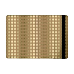 Pattern Background Brown Lines iPad Mini 2 Flip Cases
