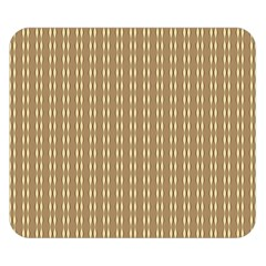Pattern Background Brown Lines Double Sided Flano Blanket (small)