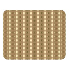 Pattern Background Brown Lines Double Sided Flano Blanket (Large)