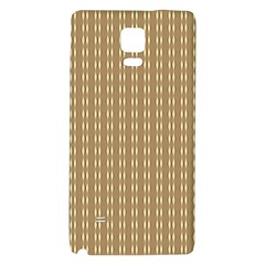 Pattern Background Brown Lines Galaxy Note 4 Back Case