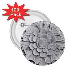 Pattern Motif Decor 2.25  Buttons (100 pack)