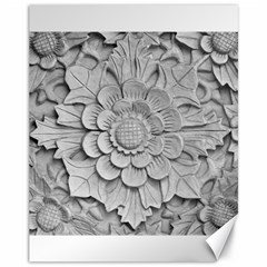 Pattern Motif Decor Canvas 11  x 14