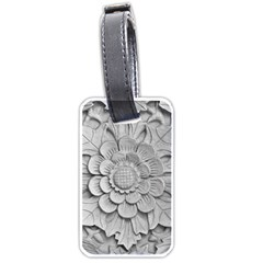 Pattern Motif Decor Luggage Tags (two Sides)