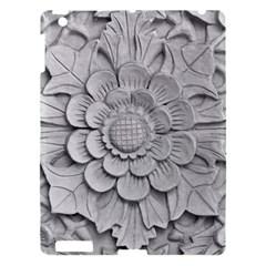 Pattern Motif Decor Apple iPad 3/4 Hardshell Case