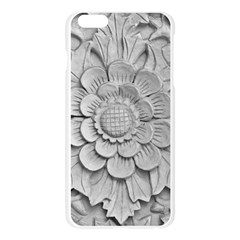 Pattern Motif Decor Apple Seamless iPhone 6 Plus/6S Plus Case (Transparent)
