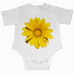 Transparent Flower Summer Yellow Infant Creepers