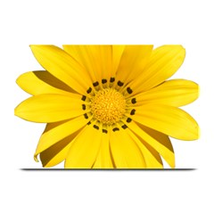 Transparent Flower Summer Yellow Plate Mats